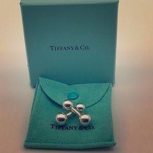 Tiffany & Co. Barbell Style Cufflinks